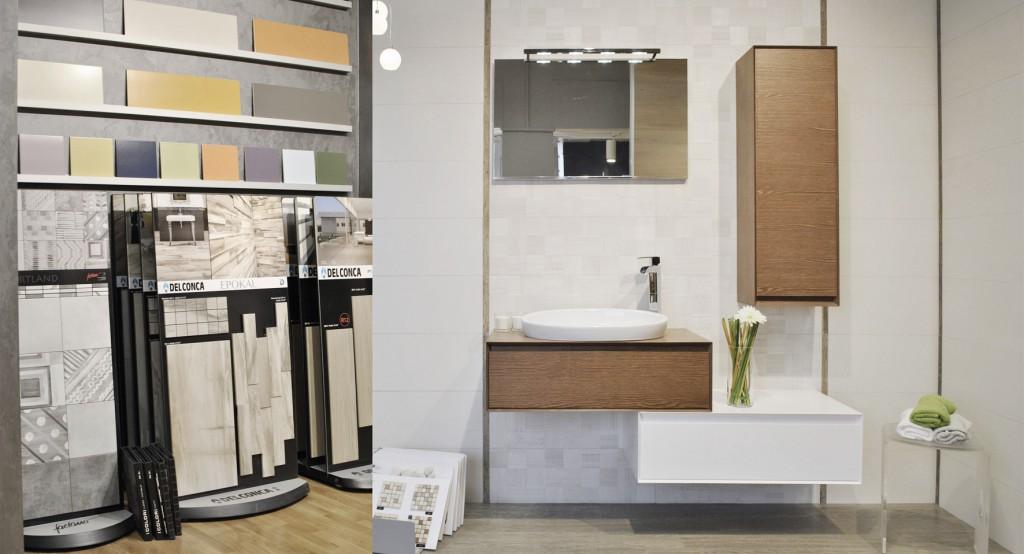 Progettazione interni - allestimento showroom arredobagno Milano - progettazioneinterni.net