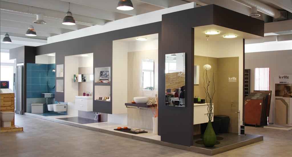 Progettazione showroom arredobagno for Showroom arredo bagno